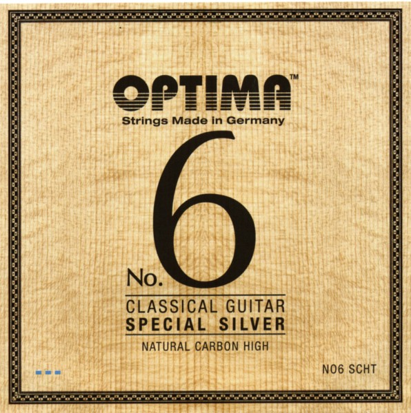 Optima - No.6 SCHT Silver Carbon