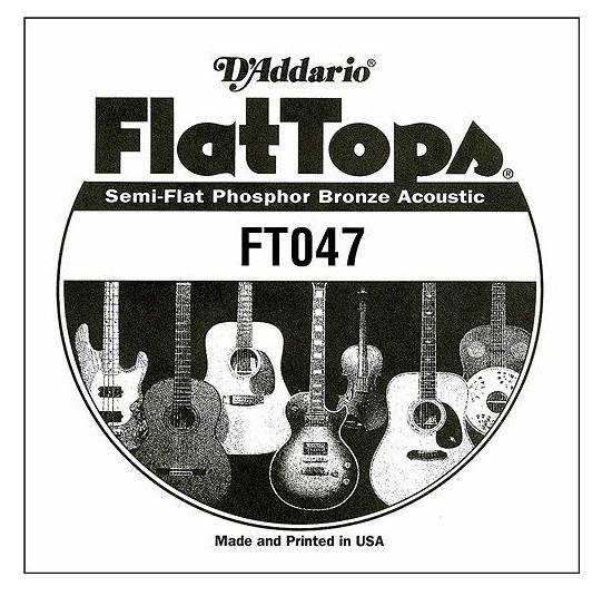 FT047 Flat Top Phosphor Bronze