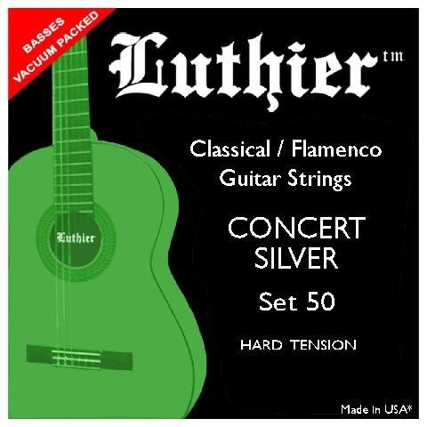 Luthier - Set50 Concert Silver