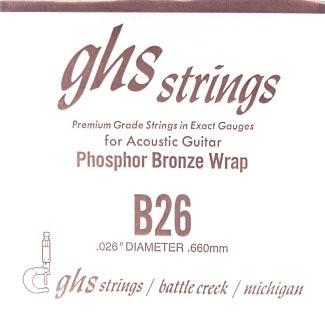GHS - B26 Phosphor Bronze wound