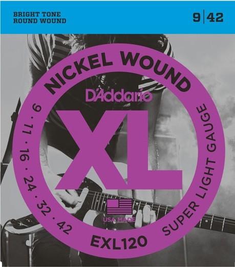 EXL120 Nickelwound Super Light