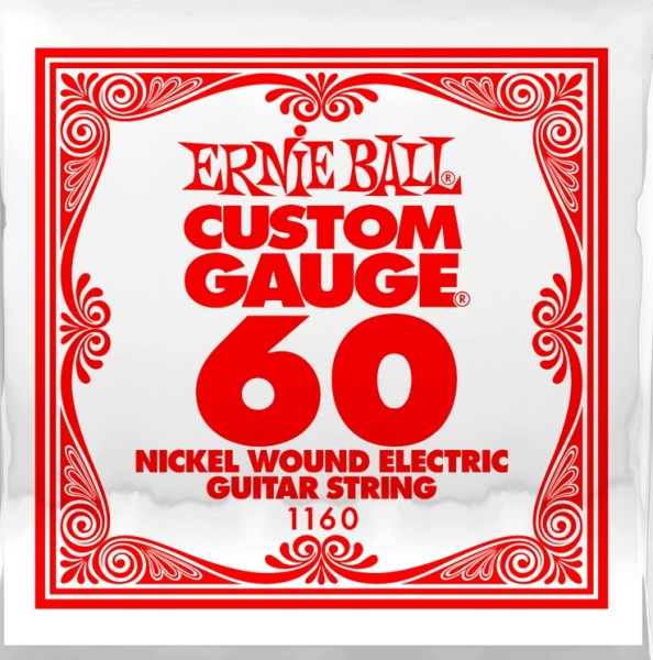 Ernie Ball - EB1160 wound EinzelsaiteNickel