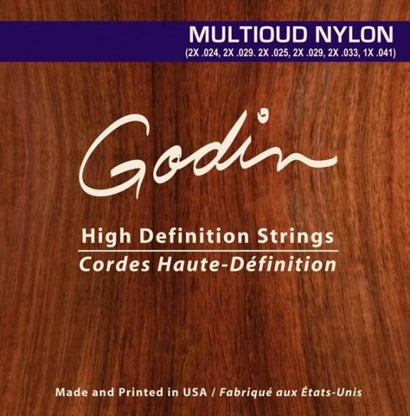 Godin - MULTIOUD Nylon 11 saitig