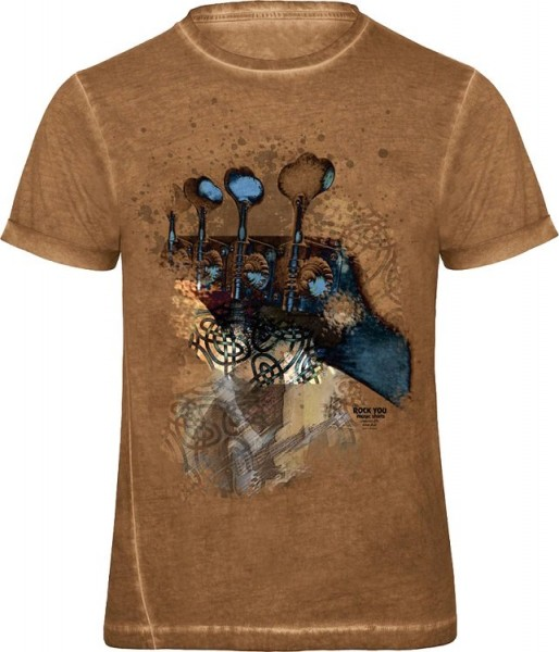 Rock You - T-Shirt Mystical Bass L