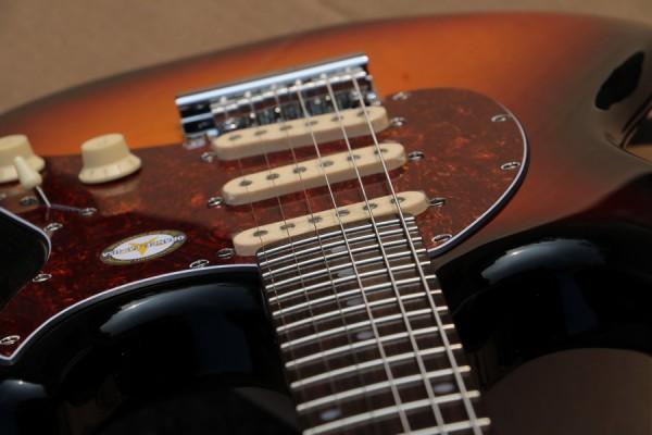 Sterling by Music Man - CT50 Cutlass SSS 3TS sunburst