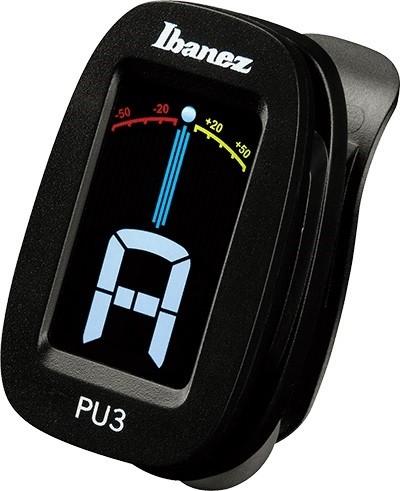 Ibanez - PU3-BK Clip Auto Tuner