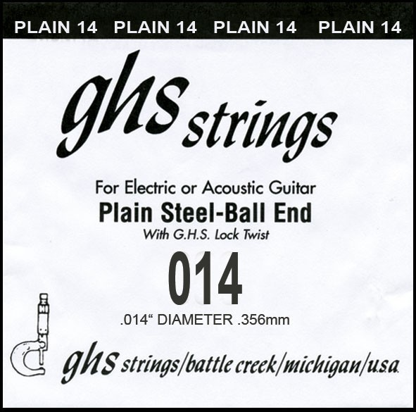 GHS - DY014P 014 plain Ball End