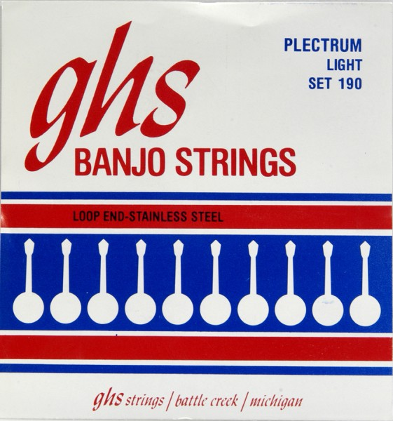 GHS - SET190 Plectrum StainlessSteel