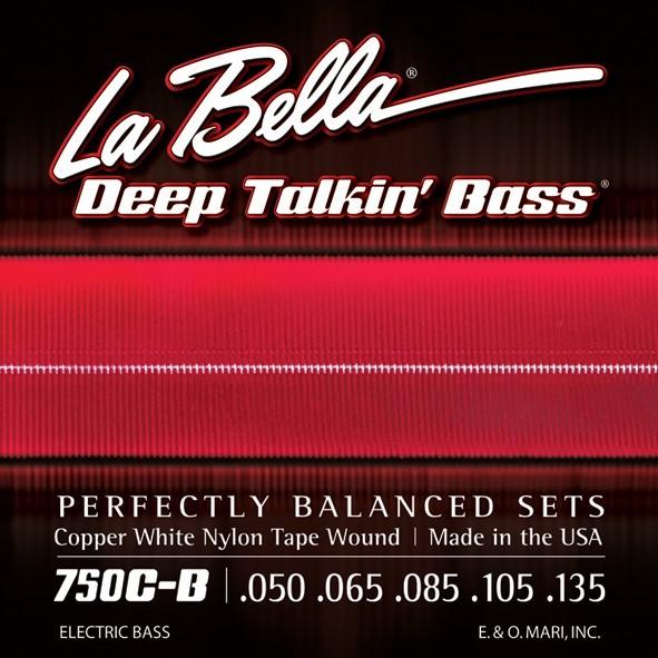 La Bella - 750CB White Nylon Tape 50 135