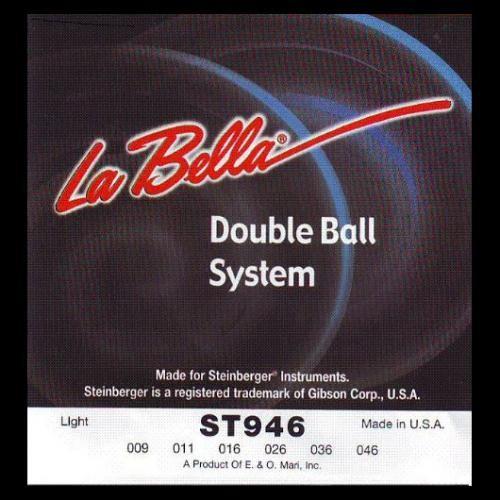 La Bella - ST946 Steinberger Double Ball
