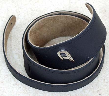 Duesenberg - ADG01 Gurt Leder schwarz