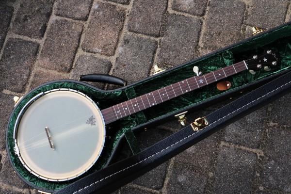 Old Time Open Back Banjo Maple