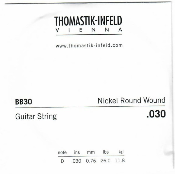 BB30 Nickel Round Wound 030w