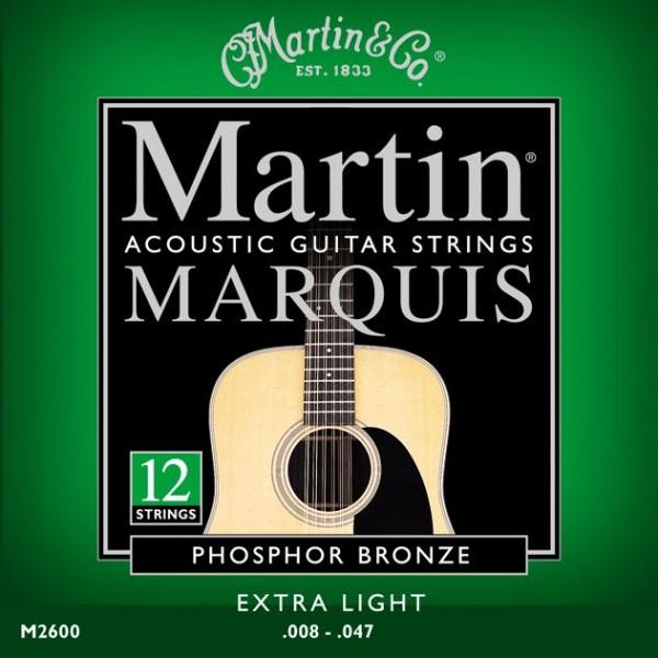 Martin - M2600 12S Phosph. Bro. Marquis