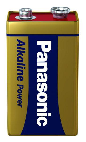 Panasonic - 6LR61 9V Block Alkaline Power
