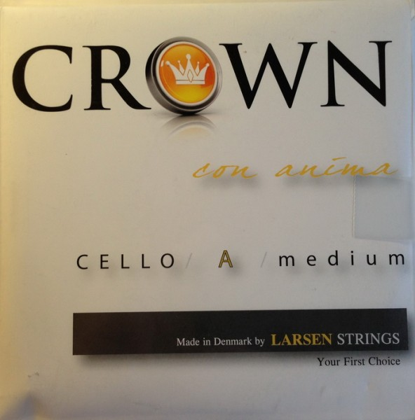CROWNbyLARSEN - Cello Medium Satz 4/4