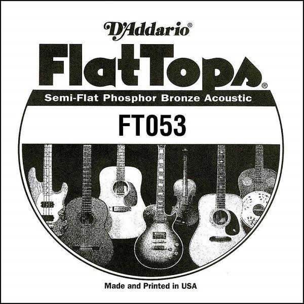 DAddario - FT053 Flat Top Phosphor Bronze