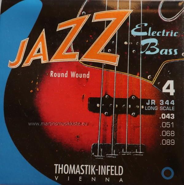 Thomastik - JR344 Jazz Bass Round Wound