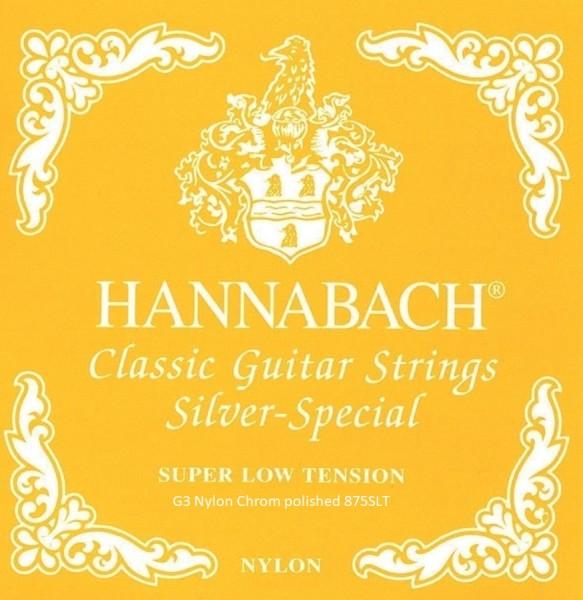 Hannabach - 875SLT G3 ES Nylon besponnen