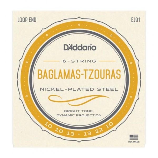 DAddario - EJ91 Baglamas Tzouras