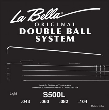 La Bella - S500L DB Flatwound Steinberger