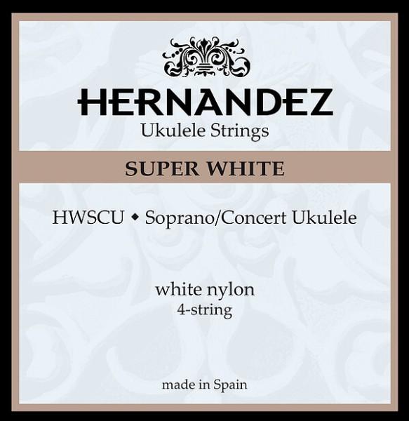 HWSCU Super White Soprano Con