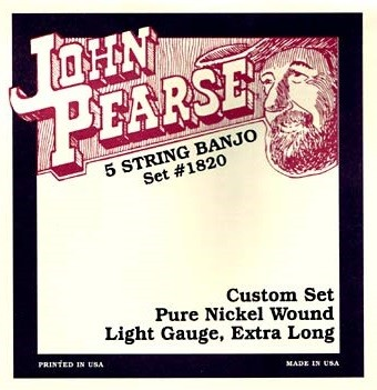 John Pearse - 1820 5S Pure Ni Extra Long Sc