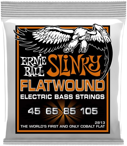 Ernie Ball - EB2813 Flatwound 45-105
