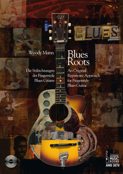 Acoustic Music Books - 3078 Blues Roots Woody