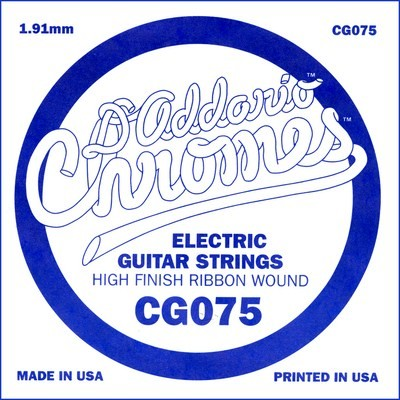 CG075 flatwound ES Chromes
