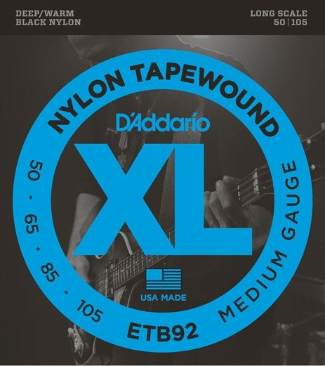 DAddario - ETB92 Nylon Tapewound 4S