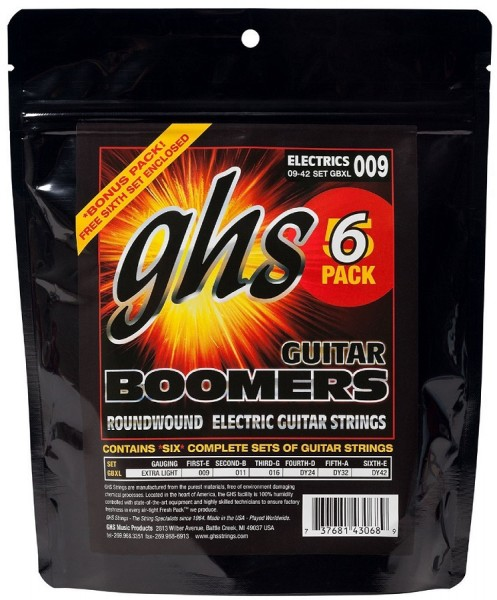 GBXL5 5+1 Boomers Extra Light