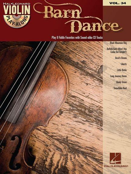 HAL LEONARD - HL00102568 Barn Dance Violin