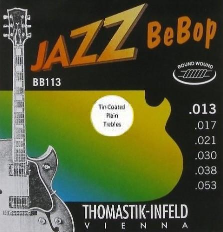 BB113TT Jazz BeBop Roundwound