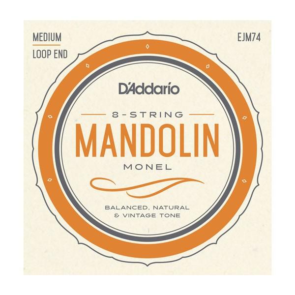 DAddario - EJM74 Mandolin Monel 11-40