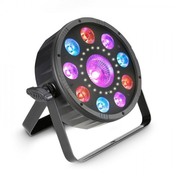 Flat Moon 3 in 1 RGB UV Strob