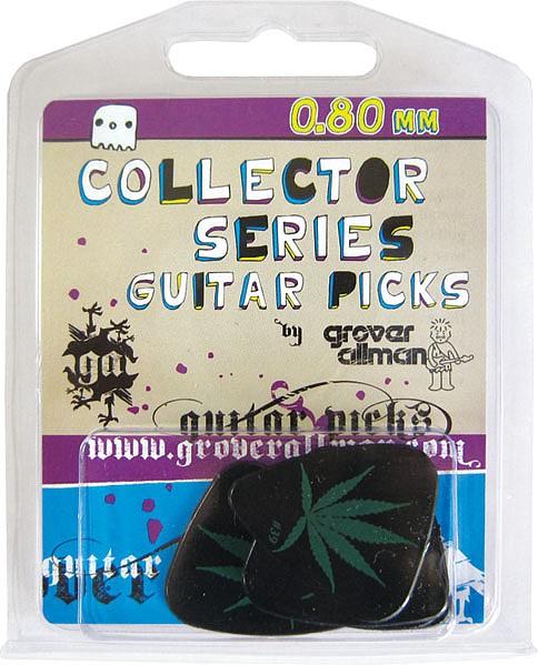 GroverAllman - Hemp Leaf Plektren 5 Stück