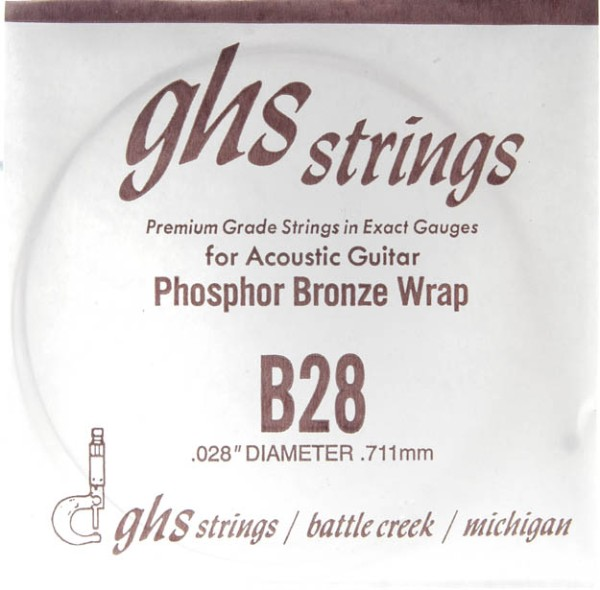 GHS - B28 Phosphor Bronze wound