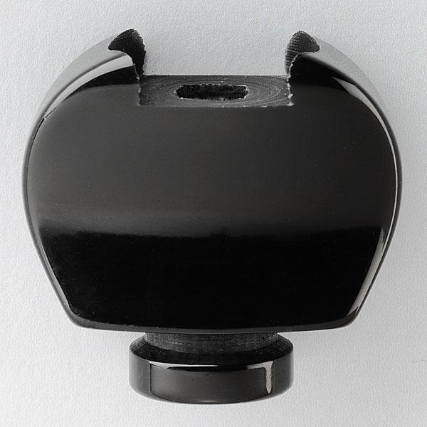 Banjoknopf B4 schwarz gr Schra