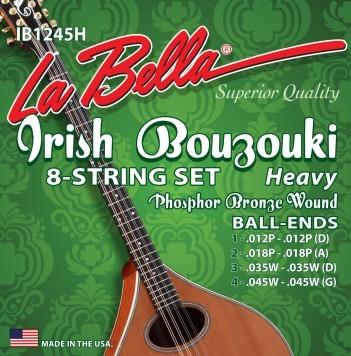 La Bella - IB1245H Irish Bouzouki ballend