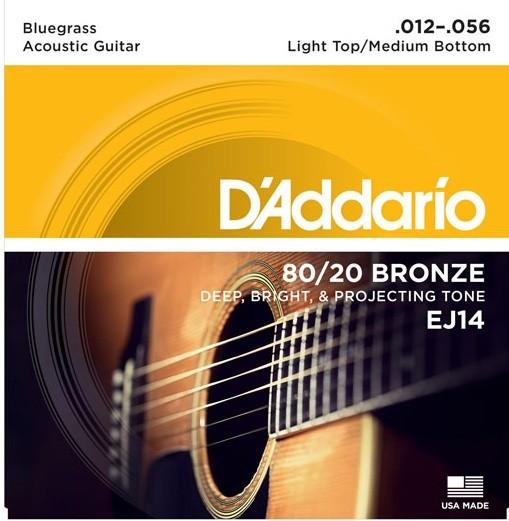 DAddario - EJ14 Bronze Bluegrass