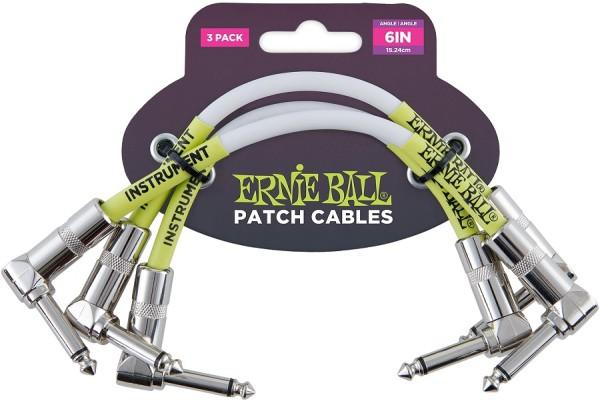Ernie Ball - EB6051 Patchkabel WK WK weiß