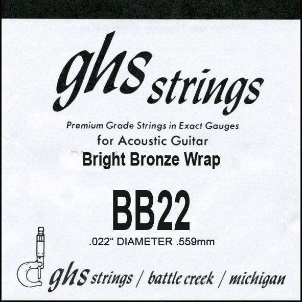 BB22 Bright Bronze 022 wound