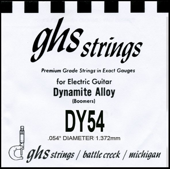 DY54 Boomers nickel wound 054