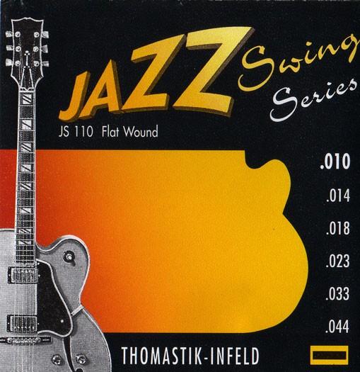 JS110 Jazz Swing Flatwound 010