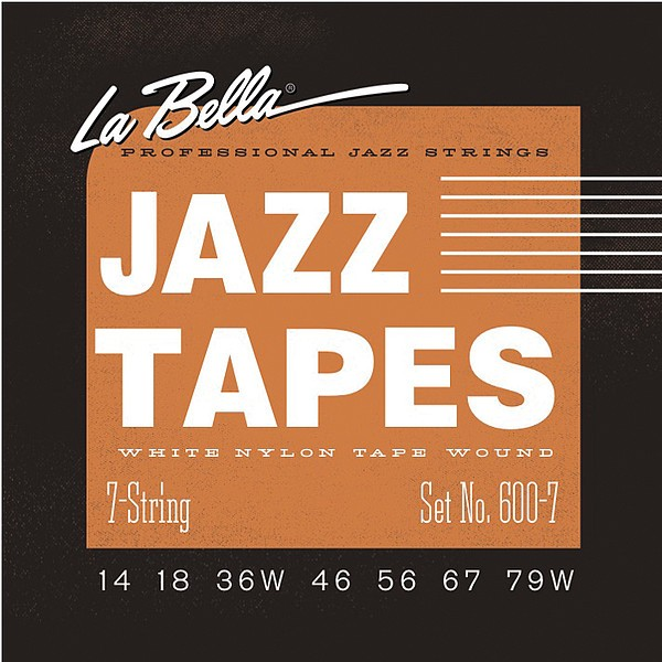 La Bella - 600-7 JazzTapes 14-79 7 String