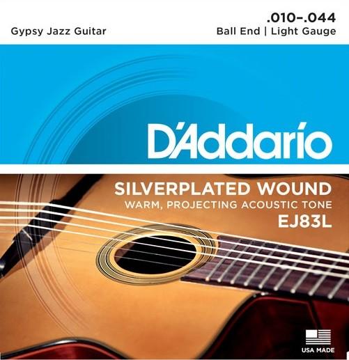 DAddario - EJ83L Gypsy Jazz Light