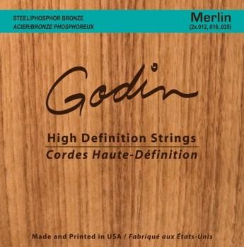 Godin - Merlin Dulcimersaiten  M4