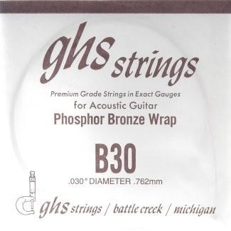GHS - B30 Phosphor Bronze wound
