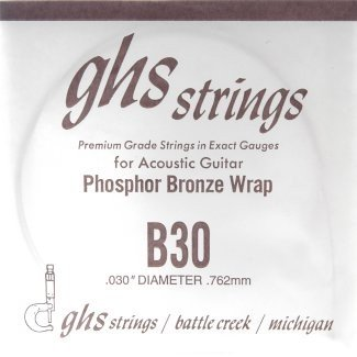 GHS - B30 Phosphor Bronze wound